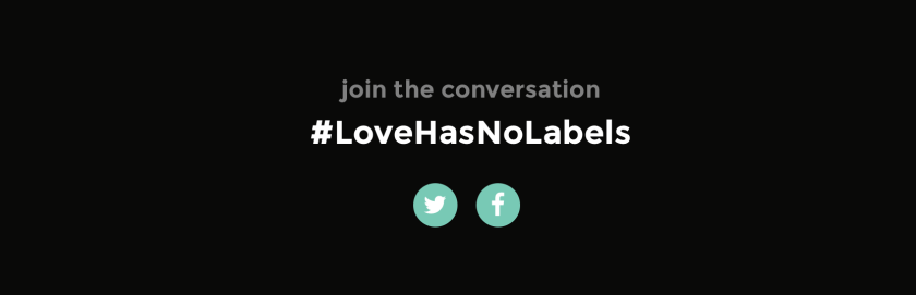 love has no labels humanizer twitter